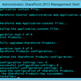 Applying CU's to SharePoint 2013 Servers with PowerShell